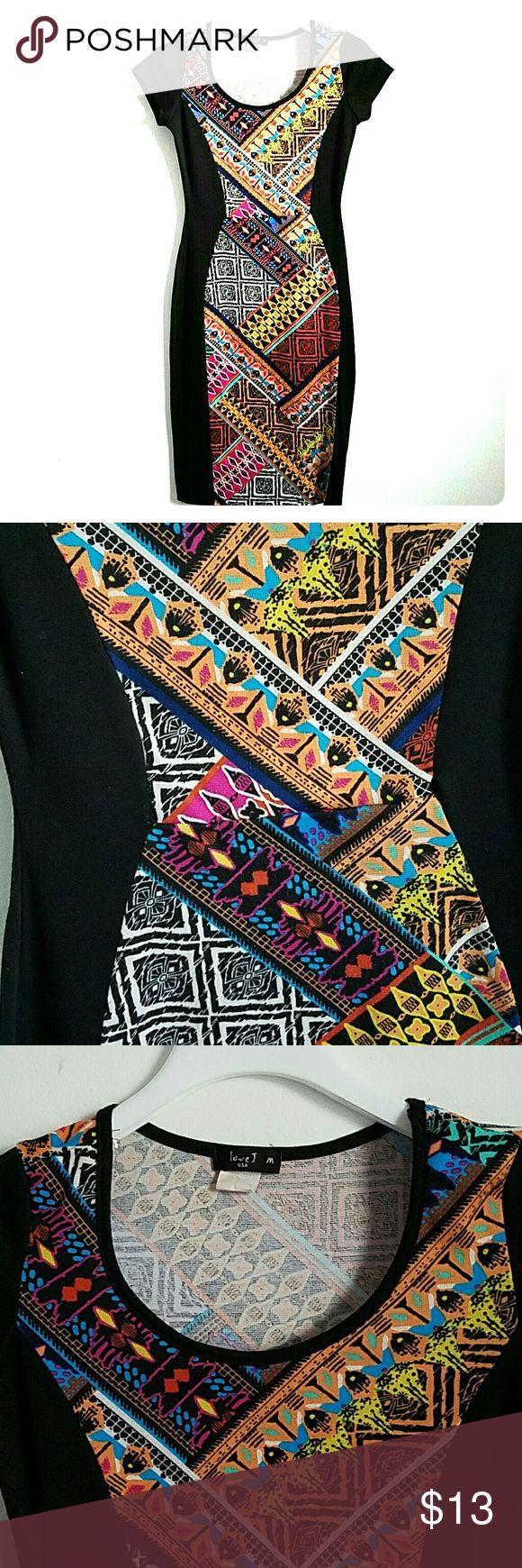 patterned bodycon dress multiple color, multiple pattern bodycon midi dress. love j usa Dresses Midi