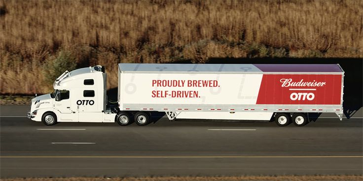 Self-Driving Truck's First Delivery Was 50,000 Cans Of Budweiser