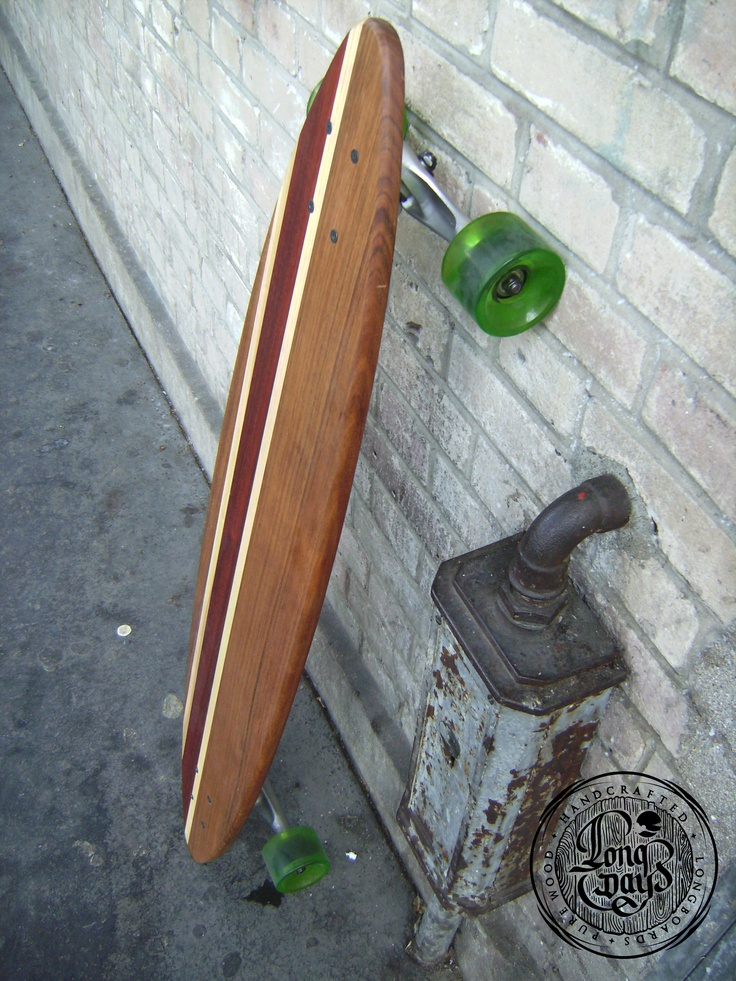 Venice S. Longboard. Handcrafted. Handmade. Pure wood.