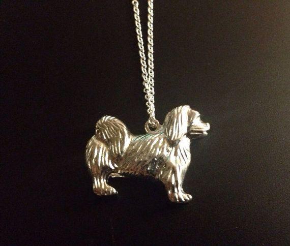 Dog Charm Necklace  on Etsy, £10.00