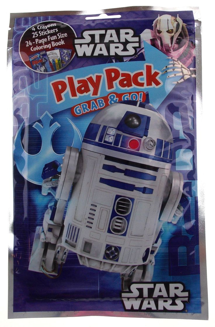 Now available in our store: Star Wars Play Pa... Check it out here! http://funsationalfinds.com/products/star-wars-play-pack-r2d2-grab-go-set-8-coloring-book-crayons-stickers?utm_campaign=social_autopilot&utm_source=pin&utm_medium=pin