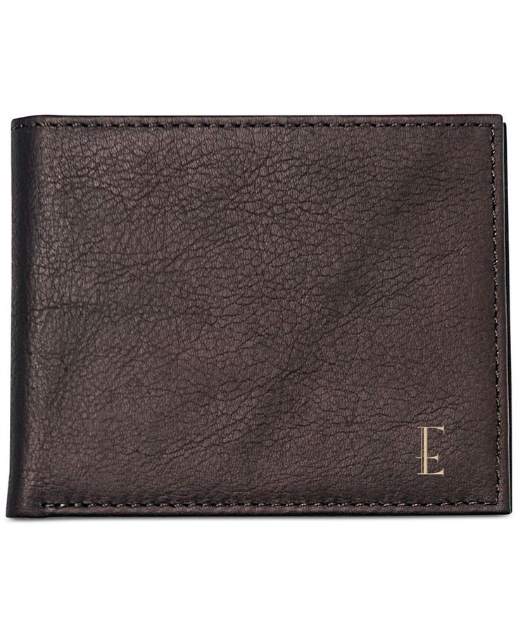 Cathy's Concepts Men's Personalized Brown Bi-Fold Wallet with Multi-function Tool