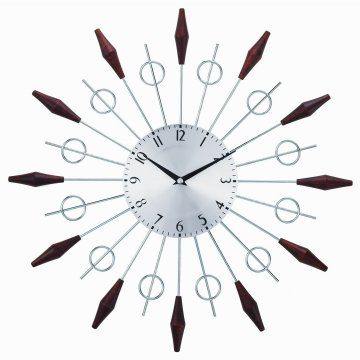 George Nelson The Noyes Mid Century 20 in. Wall Clock