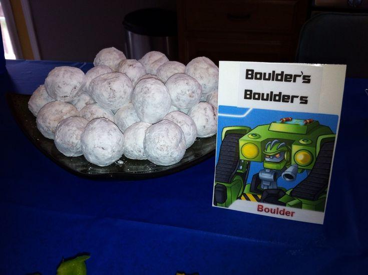 Rescue Bots Party - Boulder's Boulders