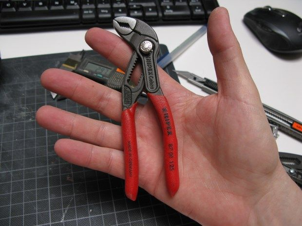 Knipex Cobra 125 small water pump pliers .. edc able tool?