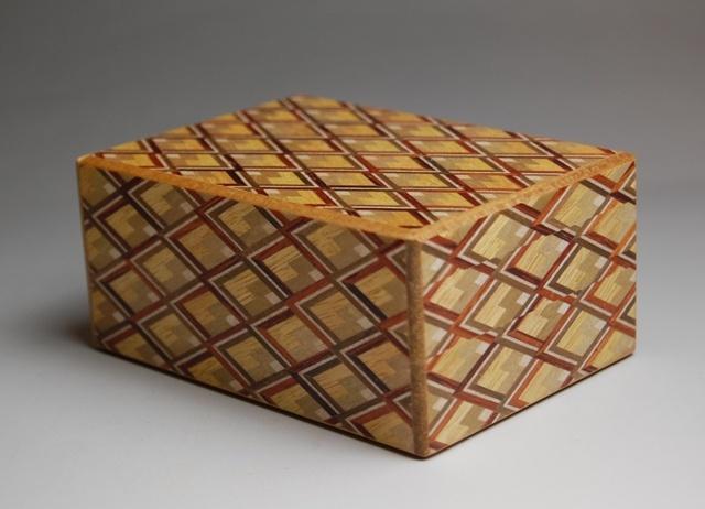 YOSEGI  ZAIKU  Famous wooden crafts made in Hakone,Shizuoka.