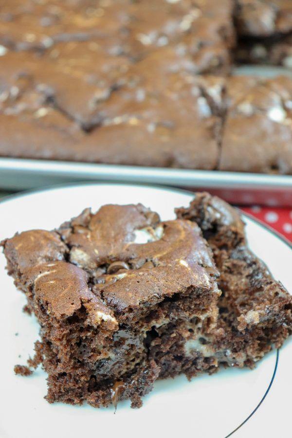 Chocolate Marble Cake Bar Recipe Chocolate Marble Cake Cake Bars Marble Cake