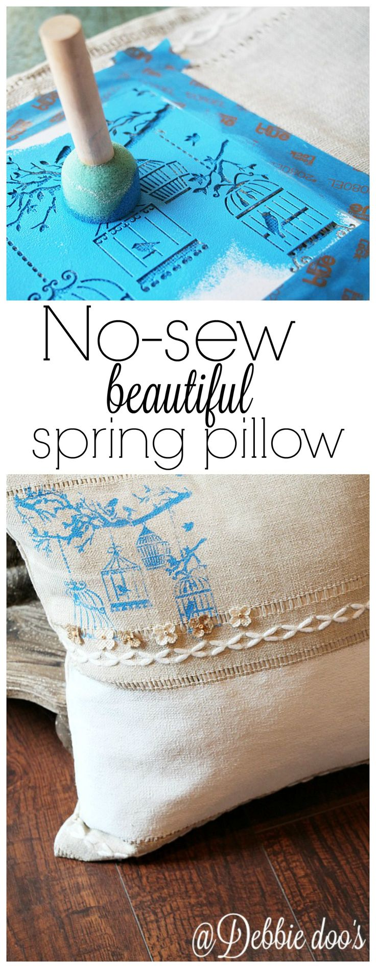 How to make your own no sew