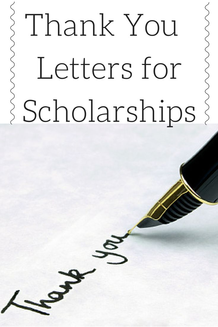 After receiving a scholarship, it is imperative to send a well written and thoughtful thank you note. This provides reinforcement to the funders that they have chosen the right candidate as the winner of their award. Furthermore, many scholarships are funded by individuals or organizations who are generously donating a significant amount of hard earned money. #applyscholarships