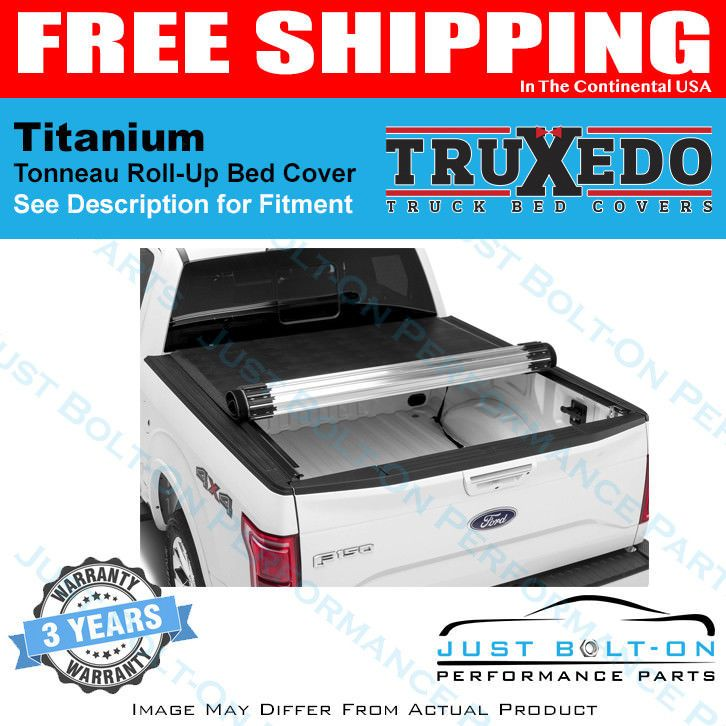 Truxedo Titanium Tonneau Cover 2015 2018 Ford F 150 Raptor 5 6 Bed 997701 Topratedseller Tonneau Cover Truck Bed Covers Performance Parts