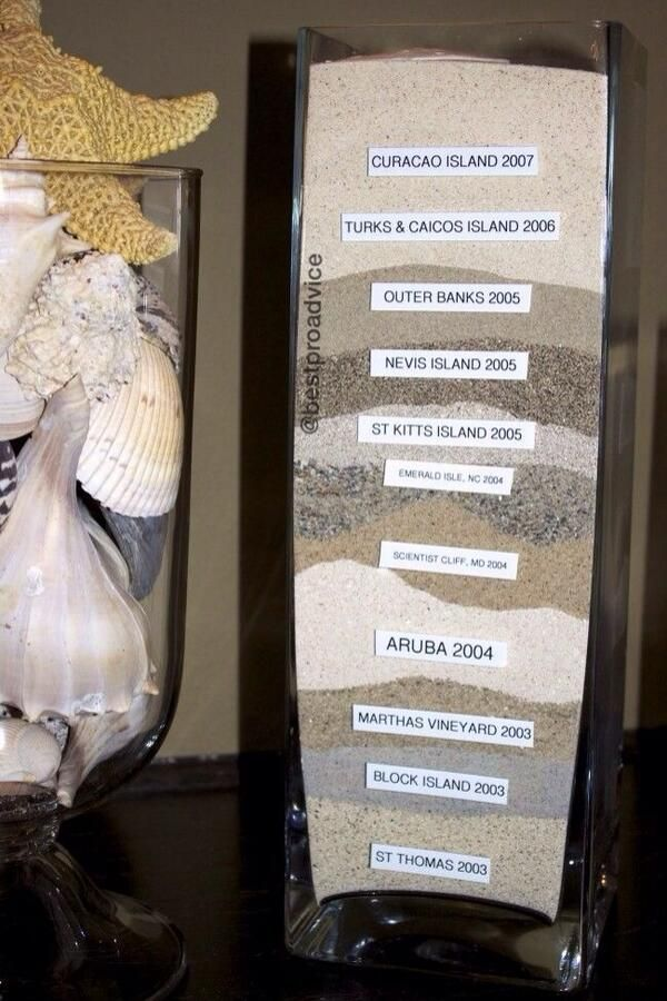 I want to do this with all the sand from florida beaches!!!! I would label them differently but great idea :)