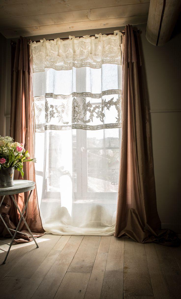 17 meilleures images propos de rideaux sur pinterest cuisine pom poms et pampilles. Black Bedroom Furniture Sets. Home Design Ideas