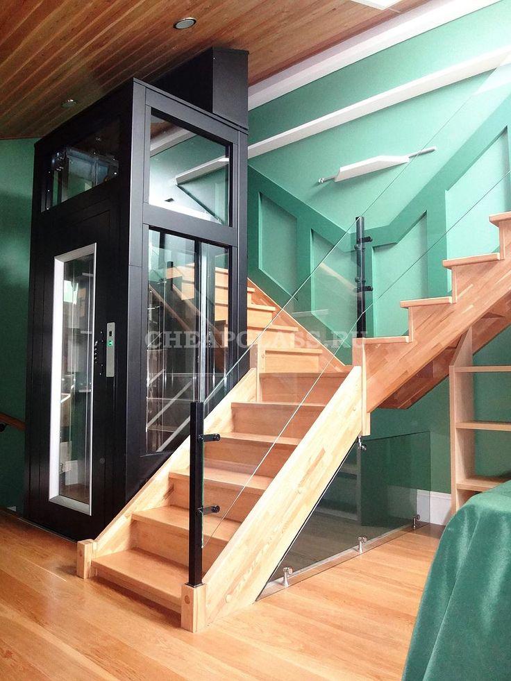 Стоечное ограждение для лестницы и площадки. Лифт для дома. ЖК Бристоль.