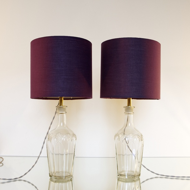 Victorian Lamps Set of 2, Tyger