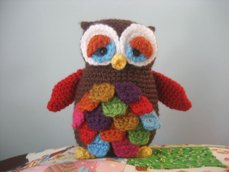 Amigurumi Owl Free Pattern : 52 best corujinhas owl crochet images on pinterest crochet owls