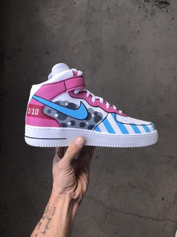 Full Custom | Nike Air Force 1 LOVE 2K19 | nike, 2019
