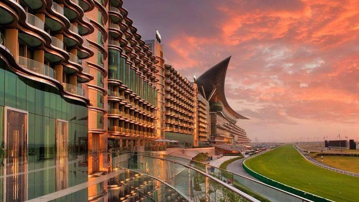 Overlooking the majestic #MeydanRacecourse this award-winning hotel is the perfect travel destination for #families and #couples - The Meydan Hotel Dubai .......................... #dubai #holiday #Holidaydeals #traveling #travels #travel #holiday