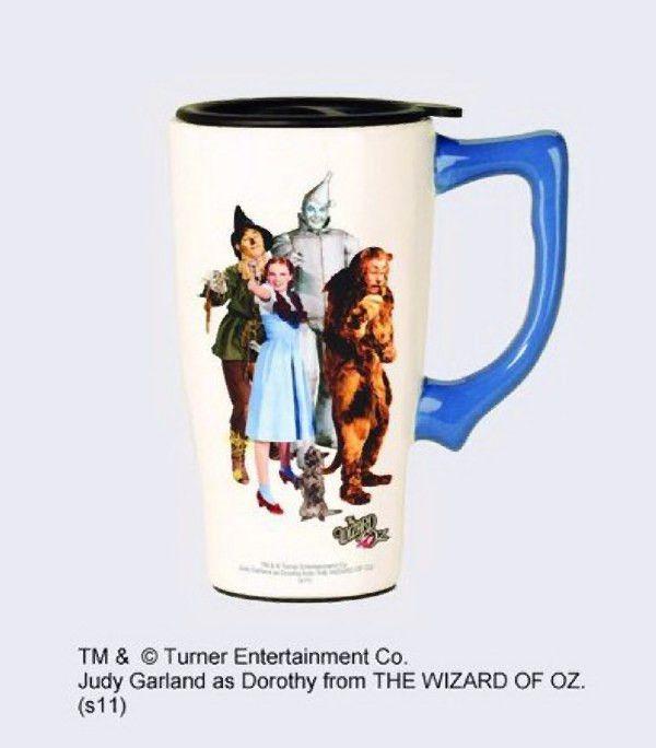 """Wizard of Oz """"Cast"""" Travel Mug"""