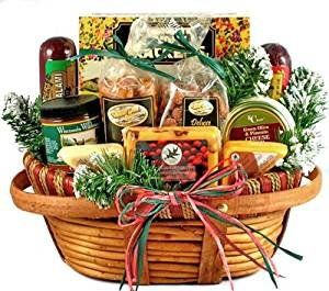 #Hometown #Holiday #Gourmet | #Christmas #Gift #Basket of #Wisconsin #Cheeses, #Sausage, and #Nuts The perfect #gourmet #gift #basket for the occasion! If they love #gourmet tasty foods, they'll love this #gourmet #gift basket! Who would not love this wonderful #holiday #gift that is filled with an all-time favorite #holiday combination, #Wisconsin #cheeses, #sausage, crackers, #nuts and more! This is a best seller! https://food.boutiquecloset.com/product/hometown-holiday-gou