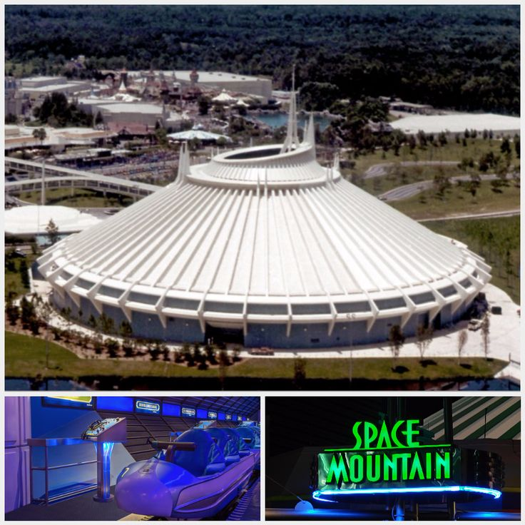 Space Mountain Enclosed Steel Dynamic