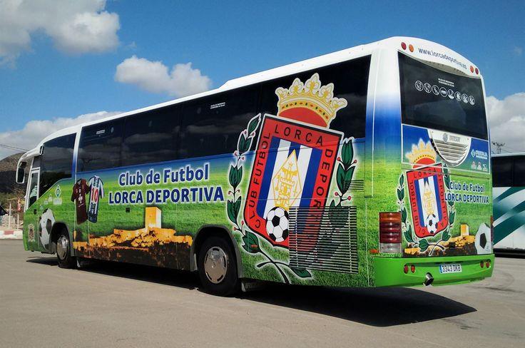 Rotulación Bus Lorca Deportiva www.logovision.es ...