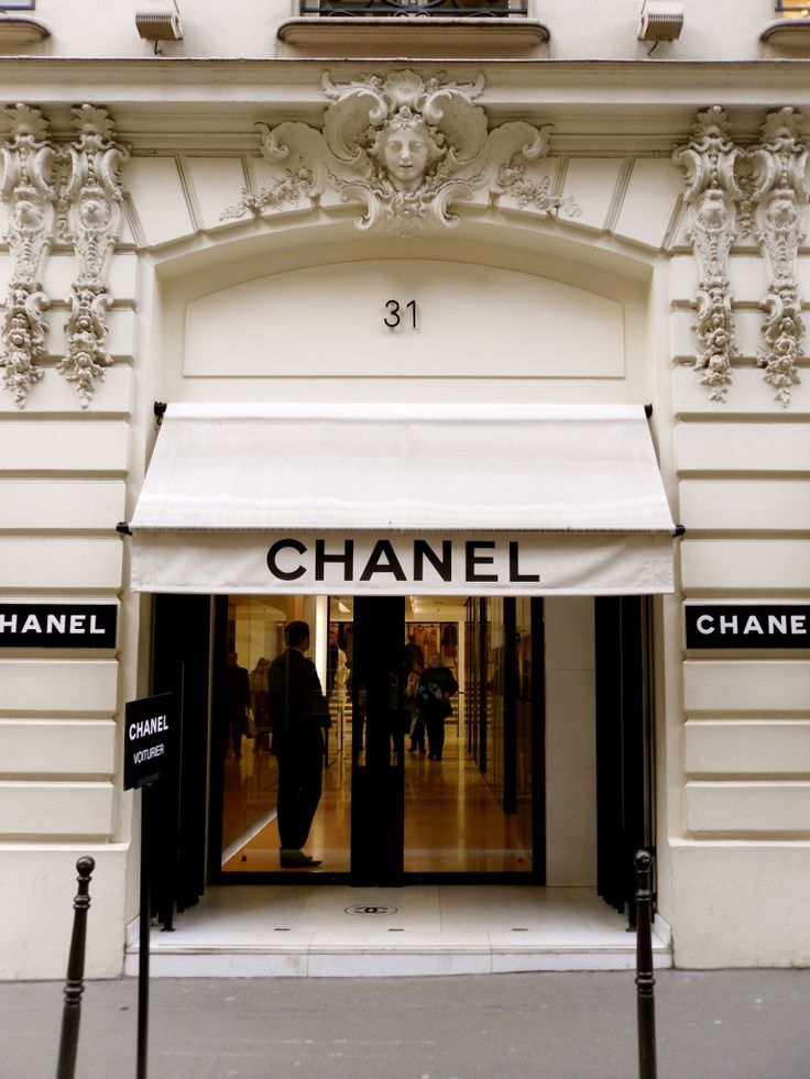 Chanel Boutique at 31 Rue Cambon, Paris- Coco Chanel's first shop --> we have to go!