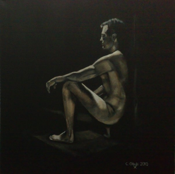 """Objectify""  24"" X 24""  Acrylic On Canvas  Christopher O'Hoski  http://www.facebook.com/christopherohoski"