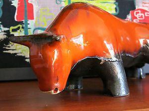 Rare Ellis Pottery Bull MID Century Modern 1950'S Eames ERA   eBay