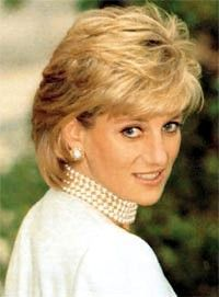 Princess Diana short hairstyle