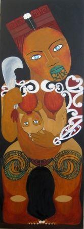 Hine Pukenga - Robyn Kahukiwa