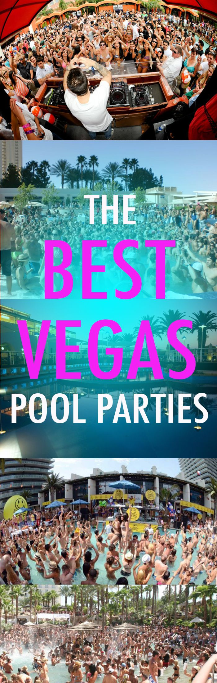Top Vegas pool parties!