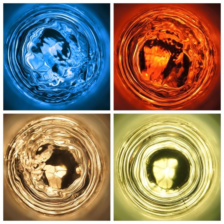 Los 4 Elementos. Creación abstracta a partir del agua de los 4 elementos.   AGUA FUEGO AIRE TIERRA   Taken with Sony Alpha Nex C3