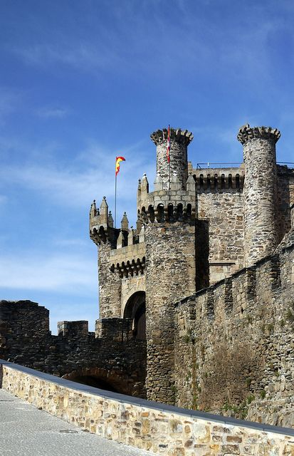 Castle of the Knights Templar - Camino de Santiago de Compostela (The Way of St. James)
