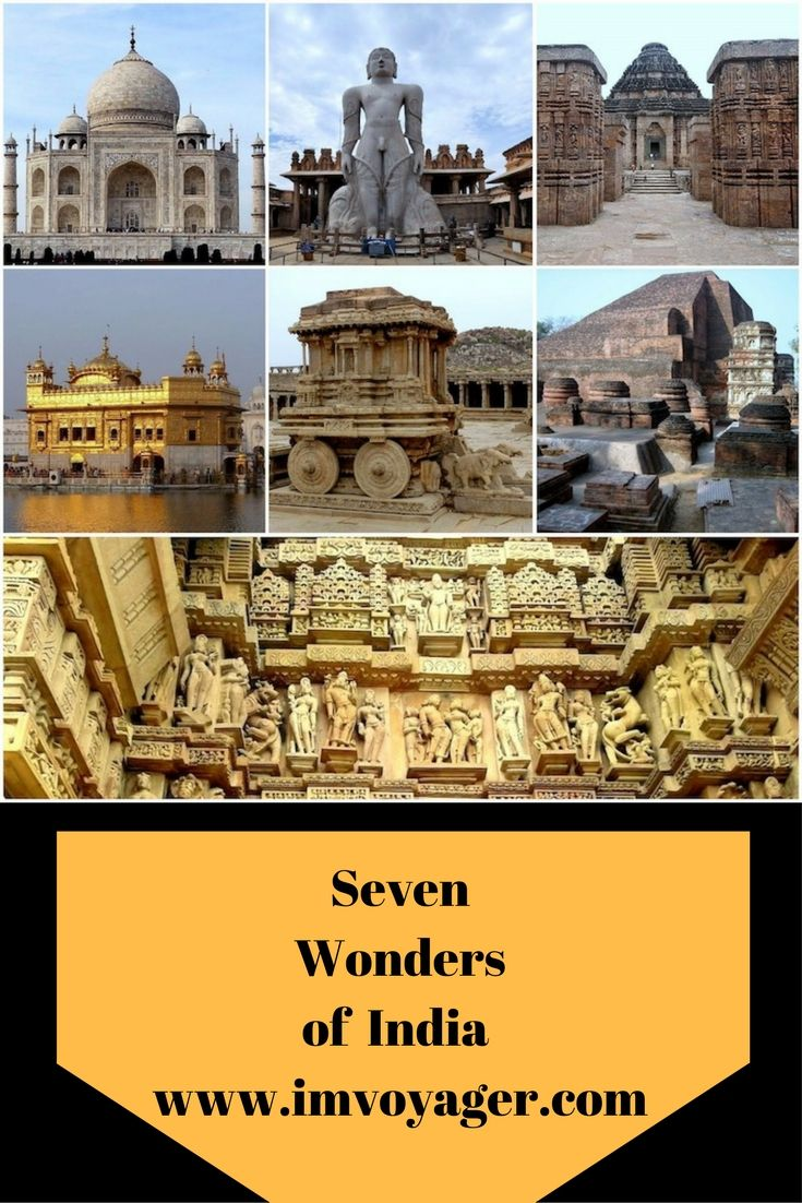 The Seven Wonders of India