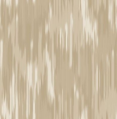 Skylon Beige (230802) - Jeff Banks Wallpapers - A stunning Ikat design - Showing in metallic inks on Beige and cream background. Other colourways available. Please request a sample for true colour match.