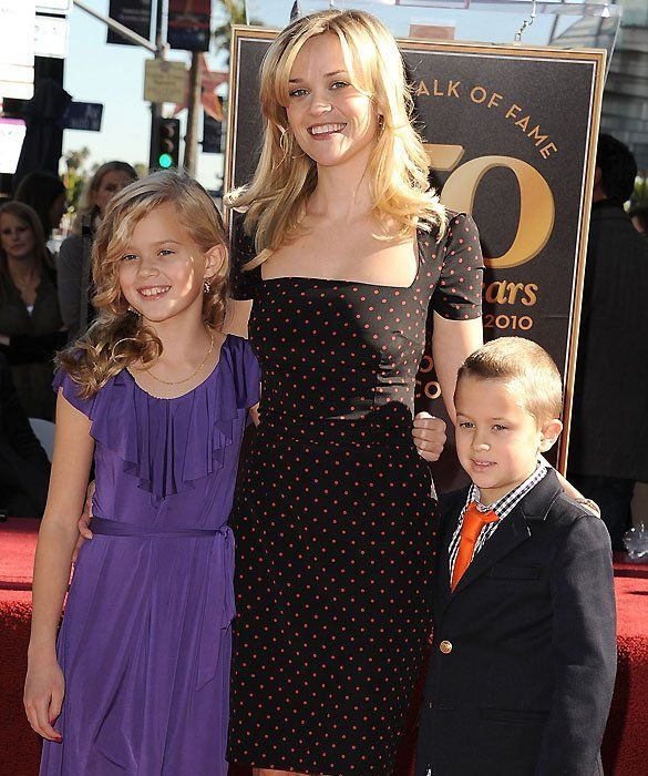 Reese Witherspoon ~ Before their split, Phillippe and Witherspoon had two children together: Ava Elizabeth, born in 1999, and Deacon Reese, born in 2003.