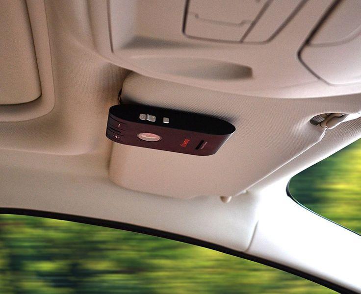 Tiiwee GT - Kit Manos Libres Para Coche Bluetooth 4.0 Negro Visera Con Altavoz Para Dispositivos Smartphone