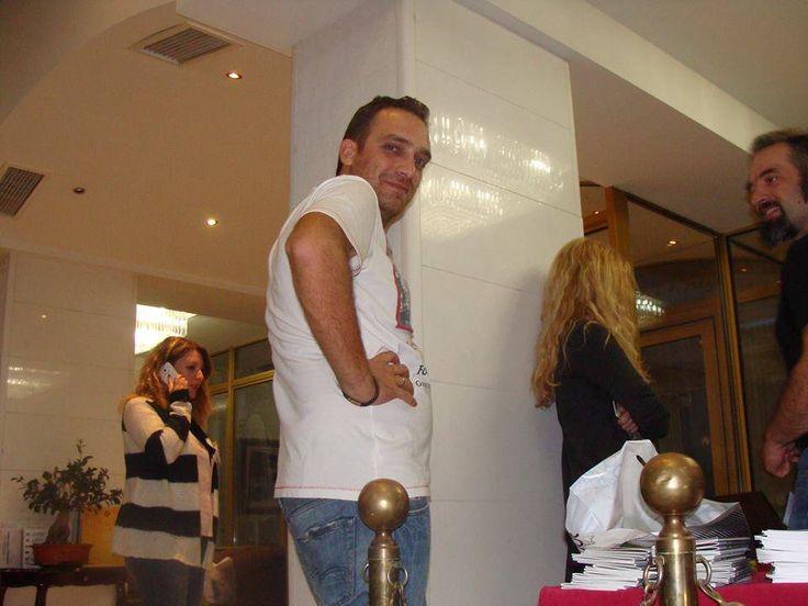 #retreat2014, Δώρος Δωροθέου & Μάνος Τάκας.