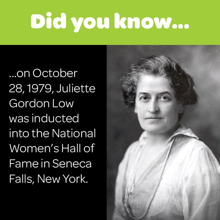 a biography of the life of juliette gordon low and her foundation of the girl scouts in america The cultural landscape foundation along with descendants of juliette gordon  low are calling for girl scouts of the usa to abandon their  news sports  entertainment life obituaries classifieds homes cars jobs e-edition   to preserving the history and legacy of the girl scout's founder.