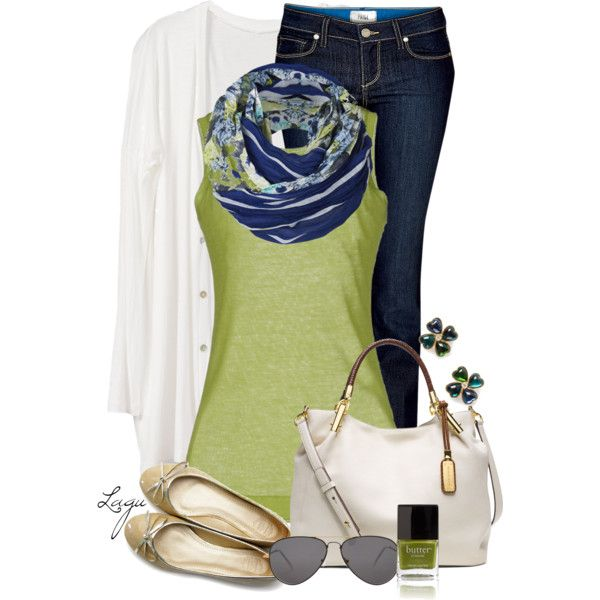 A fashion look from March 2014 featuring Massimo Alba tops, Paige Denim jeans and Ollio flats. Browse and shop related looks.