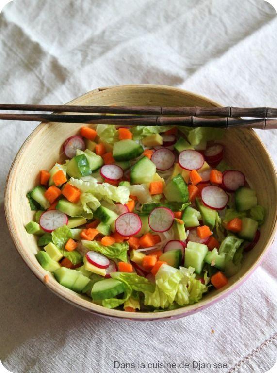 Le classique culinaire Vietnamien, le rouleau de Printemps décliné en salade
