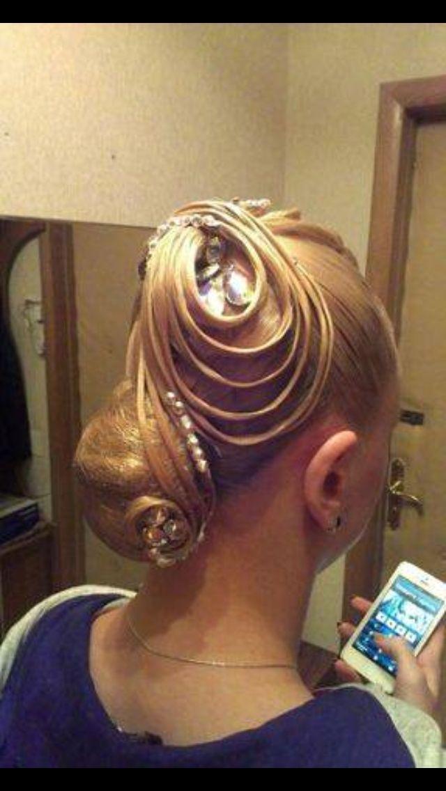 Ballroom Hair Styles