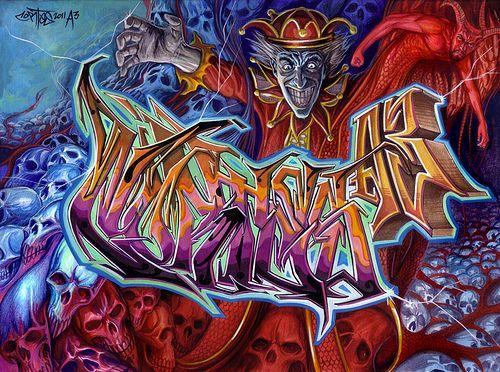Jester King | CortesNyc blackbook sketch 2011. Markers and c… | Flickr