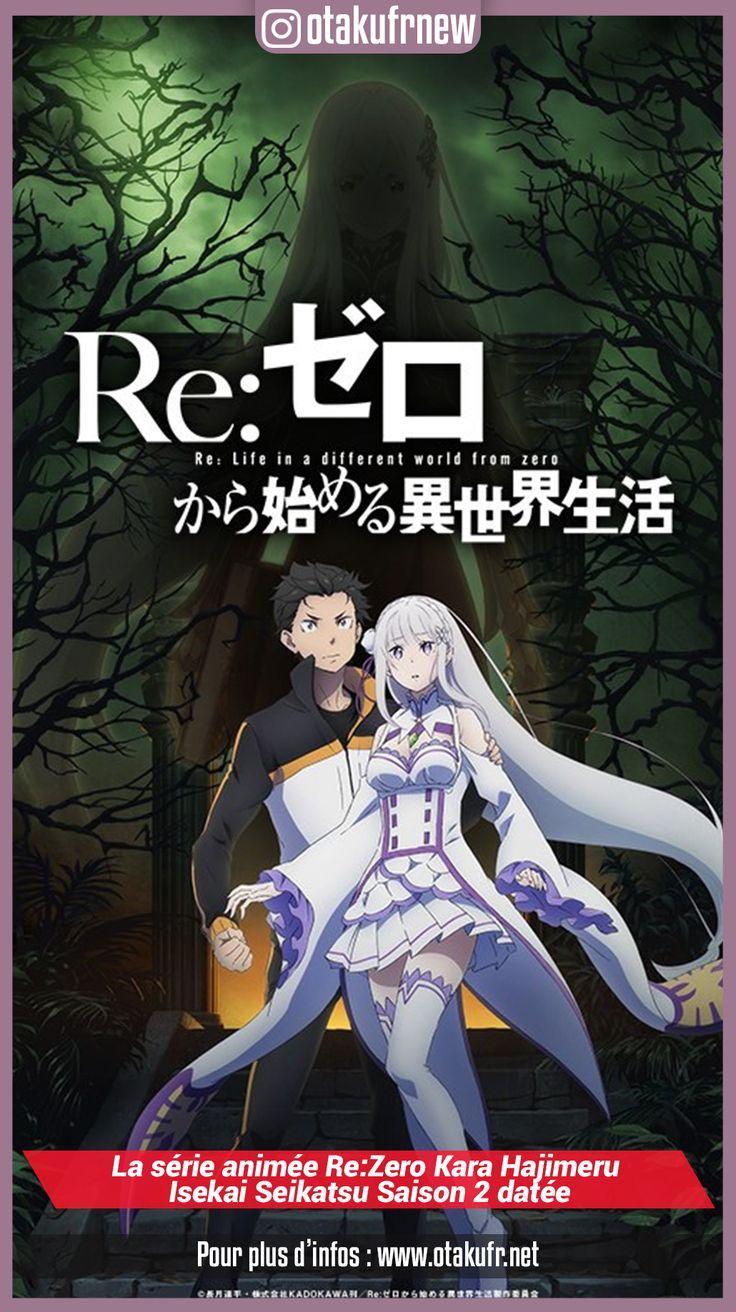 La série animée ReZero Kara Hajimeru Isekai Seikatsu