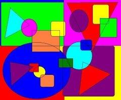Shape's art