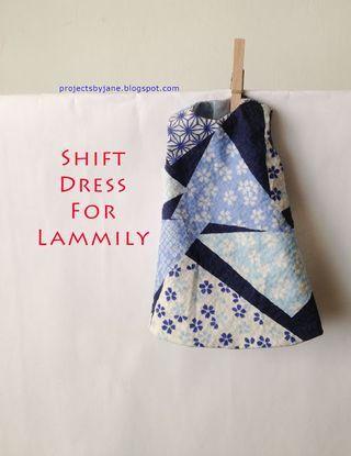 New shift dress for Lammily Doll