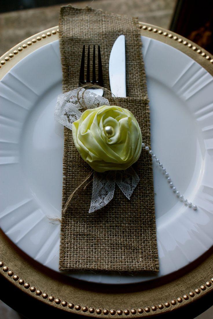 Rose napkin ring
