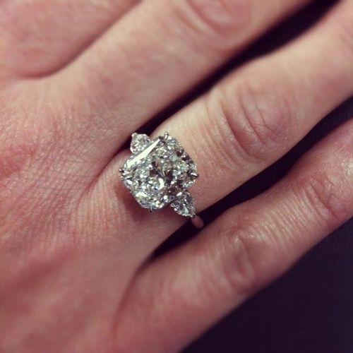 Radiant Cut Diamond Ring via Craig's Fine Jewelry.