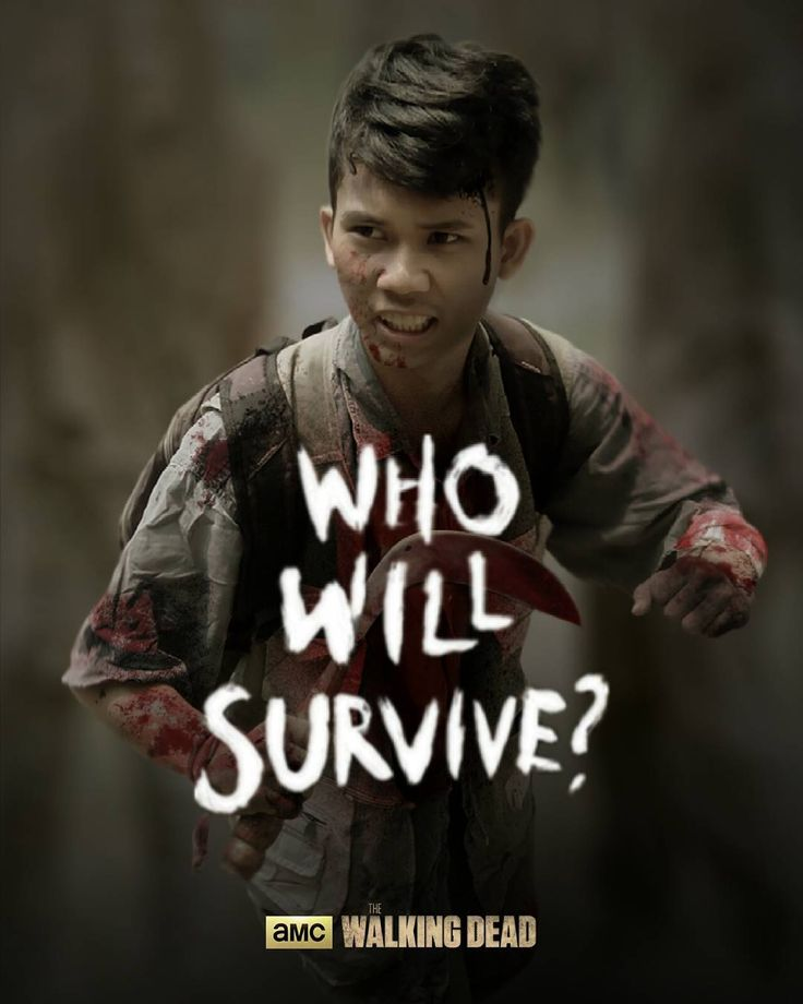 """If zombie apocalypse happened, just imagine Who will survive? #thewalkingdead #poster #photoshop #zombie #instalike"""