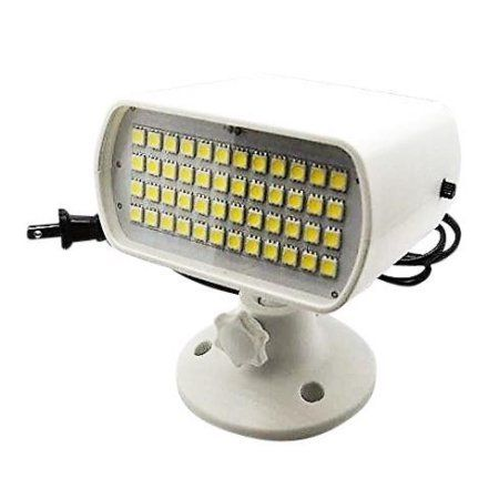 Lightahead Auto, Sound Activated 6 Colors Strobe Light with 48 LEDs Flash Rate Adjustable Disco DJ Stage Lighting for KTV Xmas Party Wedding Show Club Pub Disco DJ